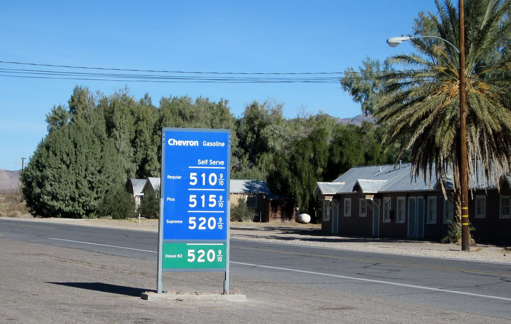 Gas Prices In California >> Shoshone CA gas 1878a | The gas station in Shoshone is ...