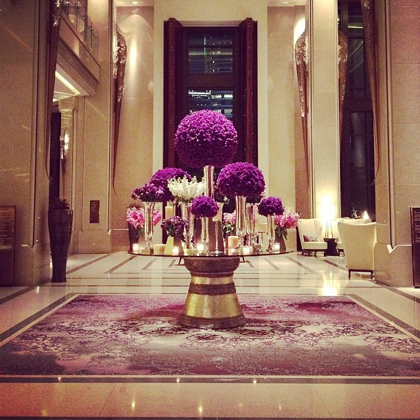 Lobby Of Siam Kempinski Hotel Always Has Such A Beautiful