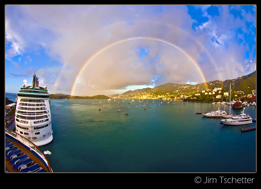 Double rainbow....(Explore) | This shot was taken in ...