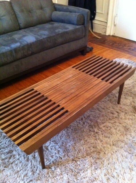 Mid Century Expandable Slat Coffee Table 100 Newredshoes Flickr