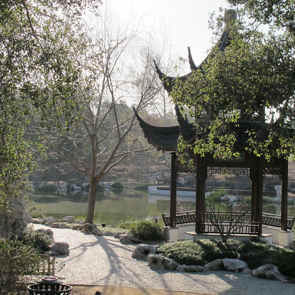 Chinese Garden At Huntington Library And Botanical Gardens Flickr