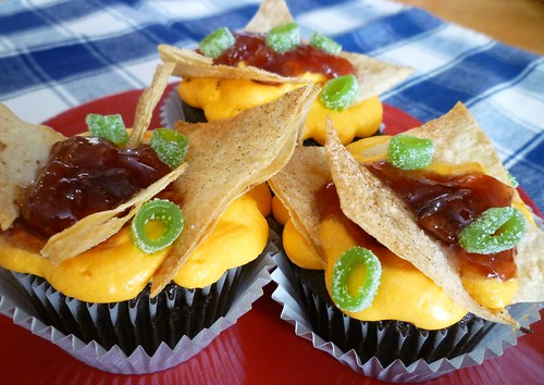 Nacho Cupcakes | by sweet simple stuff