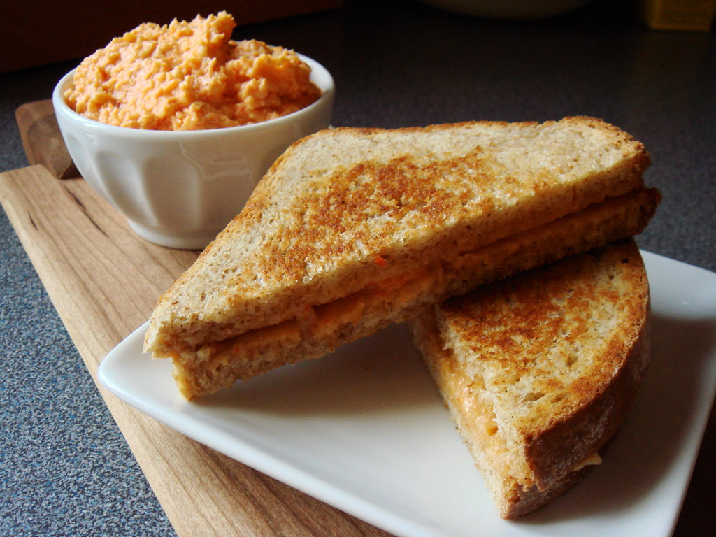 Grilled Pimento Cheese Sandwich Obviously I M Not A