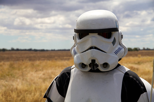 The Storm trooper on the road from Dimboola | by ABC Open Wimmera