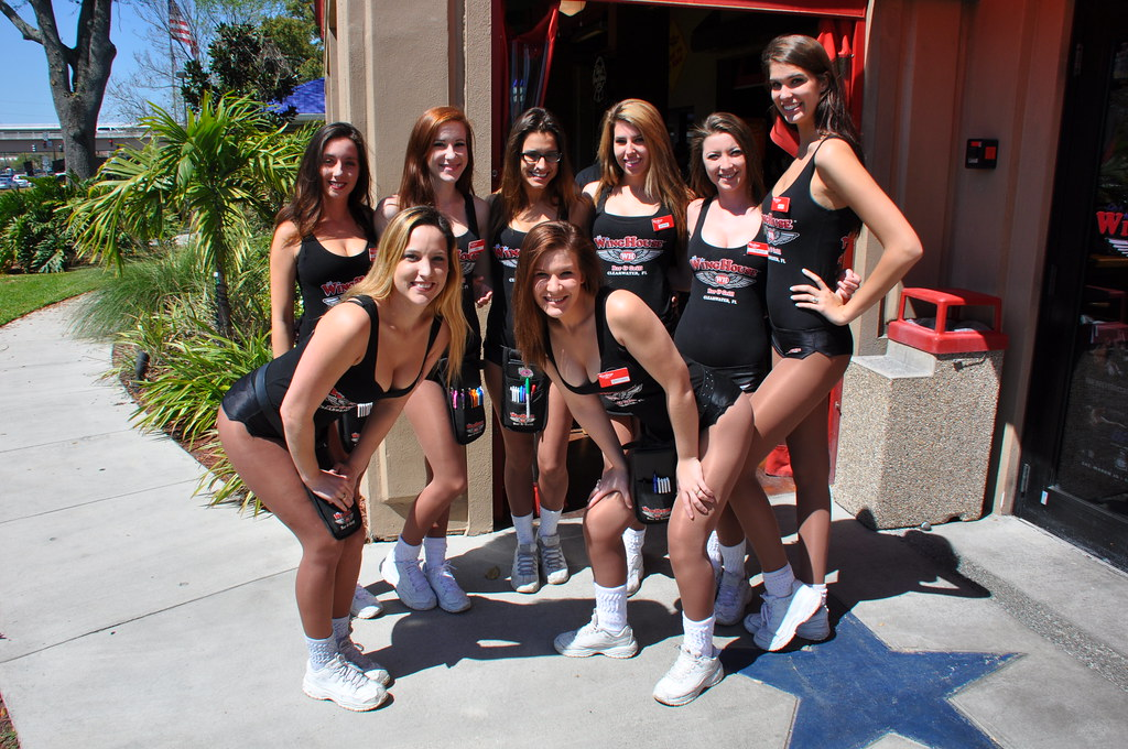 Clearwater Winghouse Girls Group Shot I Think The