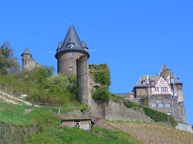 Castillo de Stahleck en Bacharach (Alemania)