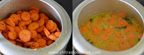 Carrot kootu recipe