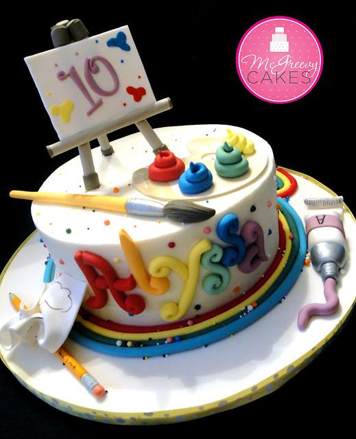 Cake Art N R Colony : Alyssa s Art Cake Flickr - Photo Sharing!