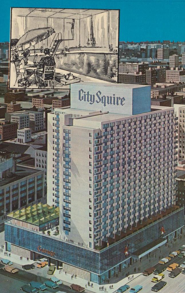 City squire motor inn new york new york broadway 51 for Motor city casino parking