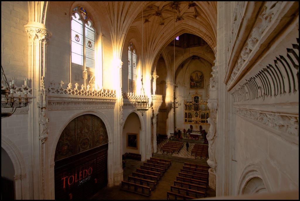 Interior de San Juan de los Reyes