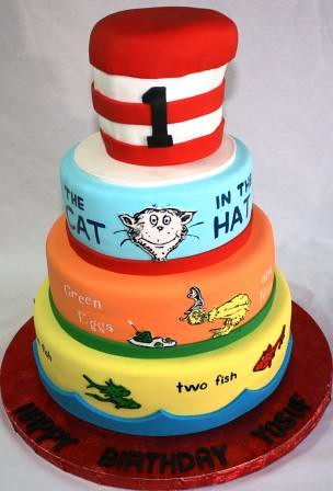 Dr Seuss Birthday Party Cake Ideas