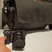 Sony NEX 7 in Front of the Lowepro Pro Messenger 200