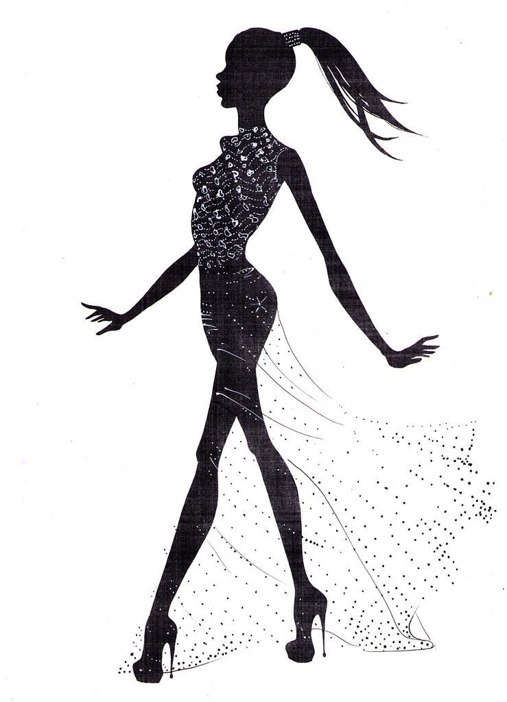 Copyright free fashion illustrations