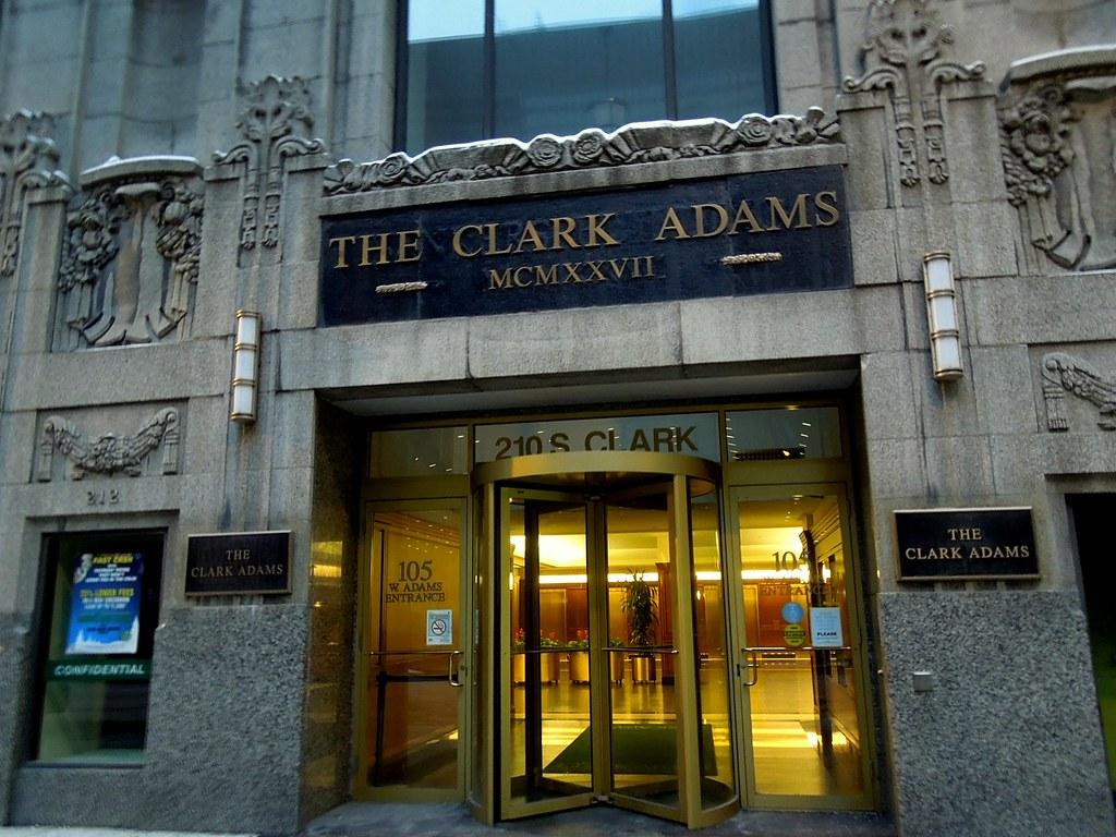 Edificio Clark Adams - 210 S Clark Street, Chicago Flickr-8896