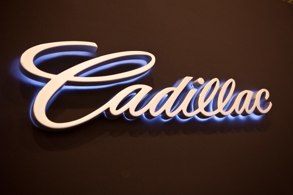 Cadillac Reverse Neon Sign 2012 Houston Car Show Flickr