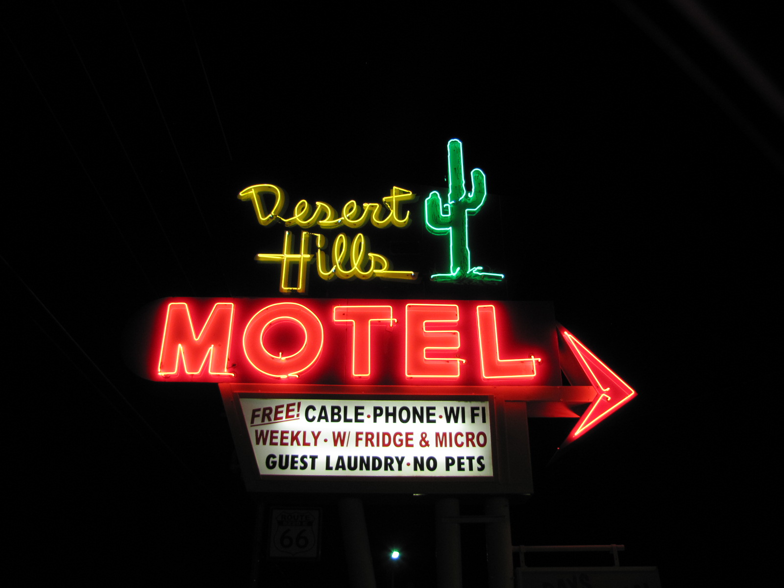 Desert Hills Motel - 5220 East 11th Street, Tulsa, Oklahoma U.S.A. - September 14, 2011