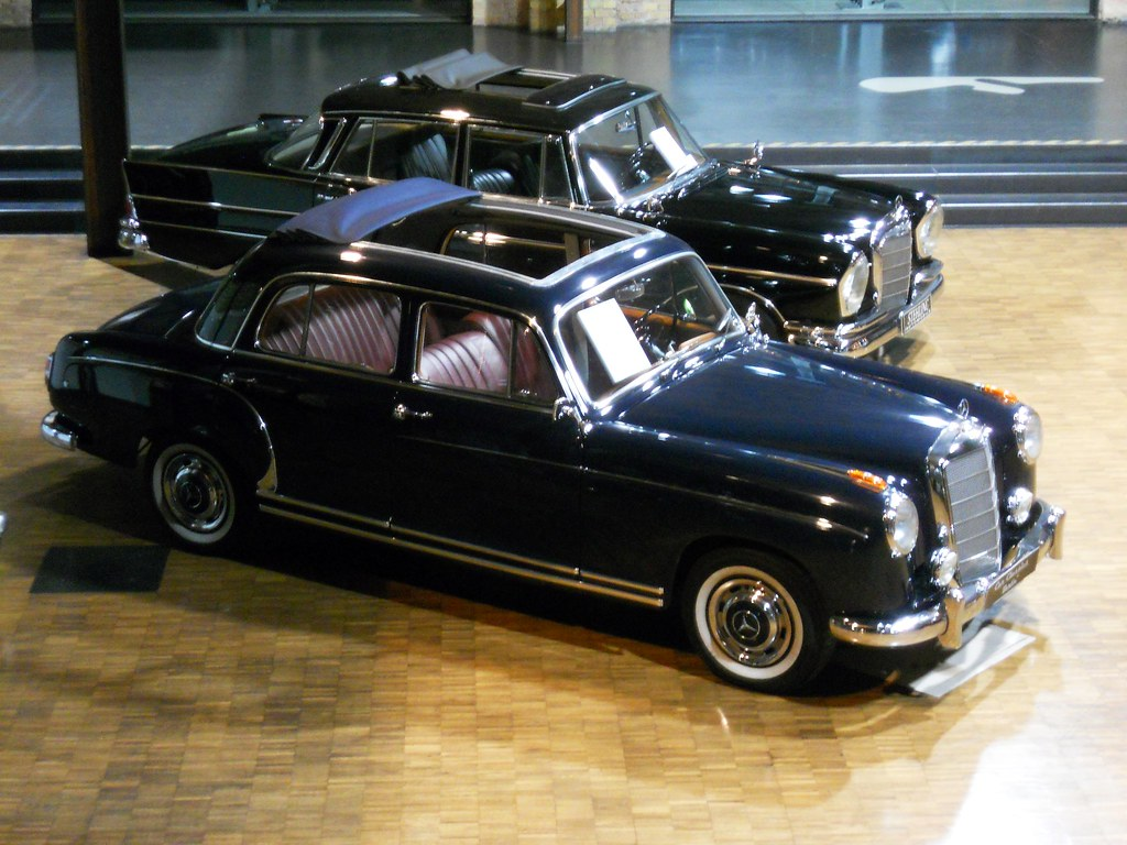 1956 mercedes benz 220 s ponton w121 bird view r6 cy flickr. Black Bedroom Furniture Sets. Home Design Ideas
