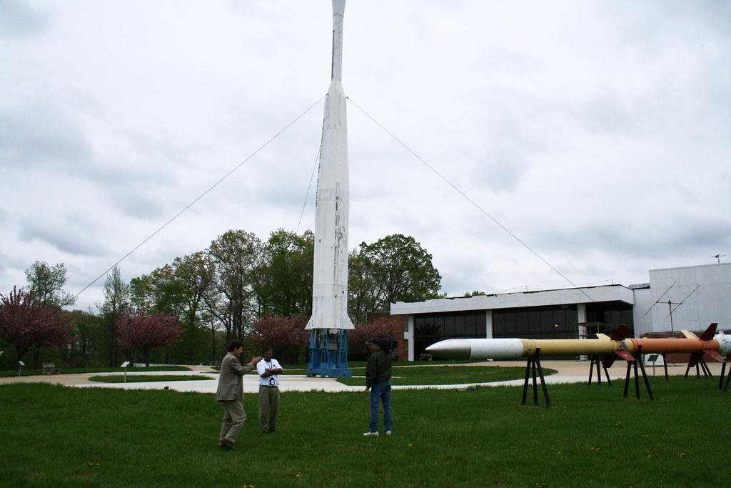 Goddard Visitor Center Rocket Garden   NASA Goddard Space ...