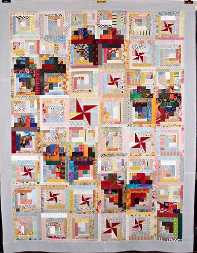 T-Romance at the Cabin | by Linda Rotz Miller Quilts & Quilt Tops