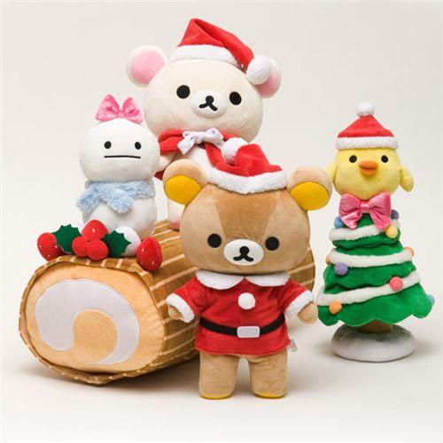 Rilakkuma Christmas Plush Doll Rilakkuma Korilakkuma