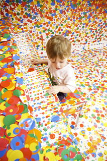 Piano Dots - Yayoi Kusama's 'The obliteration room' | by Stuart Addelsee