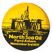 north sea oil beermat