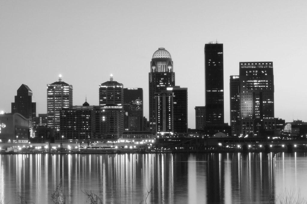 Louisville Skyline Skyline Of Louisville Kentucky Shot