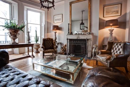 Alex MacArthur {eclectic baroque vintage modern living room ...