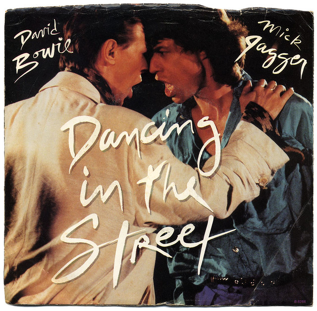 Dancing In The Streets David Bowie Amp Mick Jagger Flickr