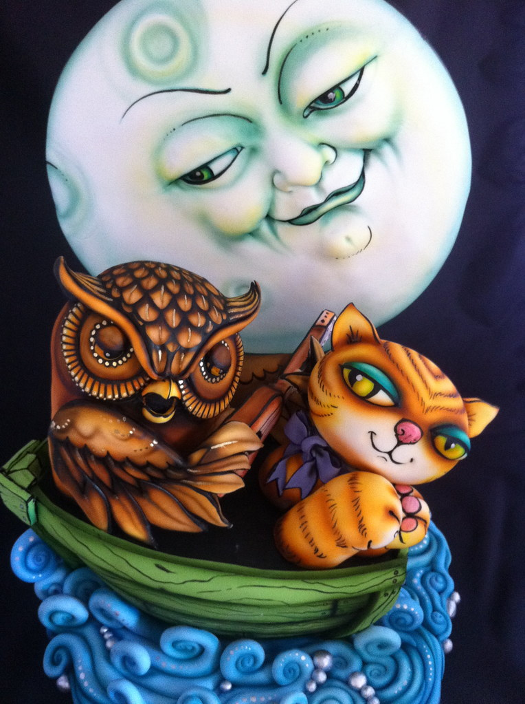 The Owl And The Pussycat Cake Oh I Loved Making This
