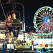 Melanie and Justin's Engagement Session at the Fair!