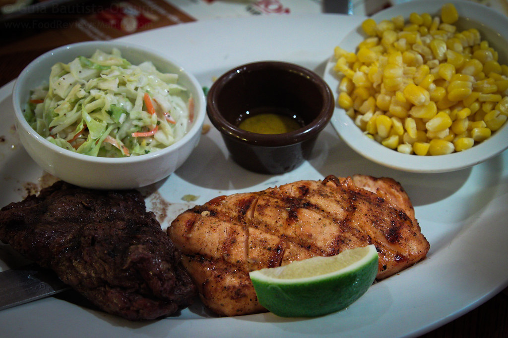 Tony Roma's Steak and Salmon | Food Reviews Manila | Flickr