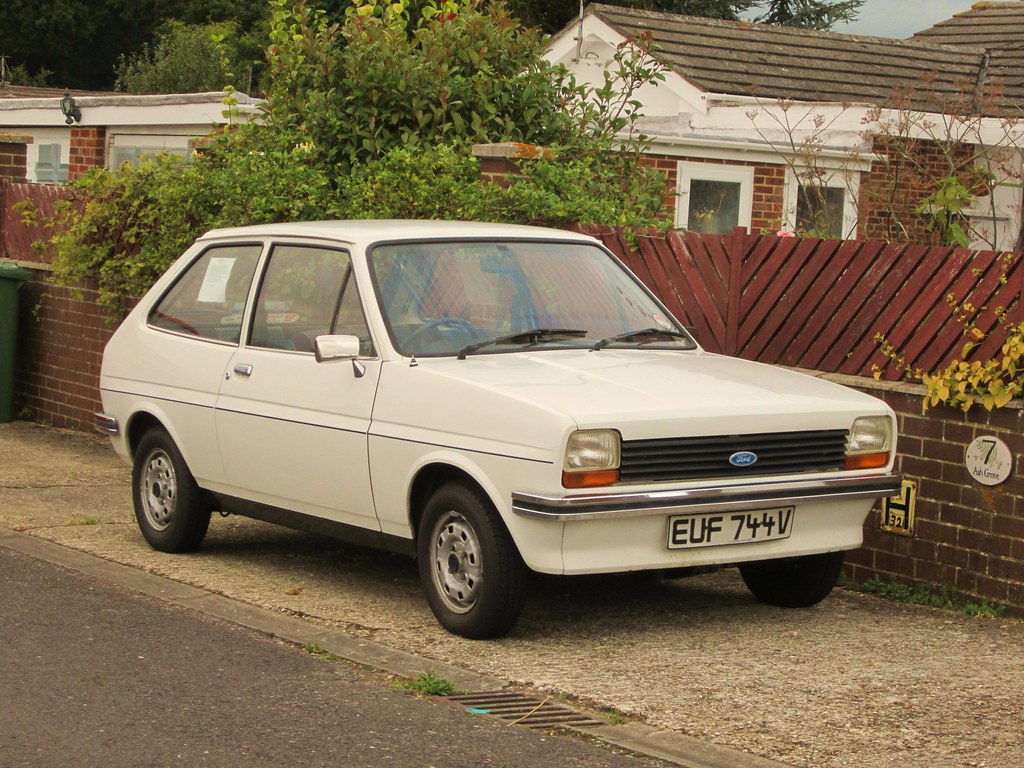 1980 ford fiesta 1 1 l an unexpected find in an area i. Black Bedroom Furniture Sets. Home Design Ideas