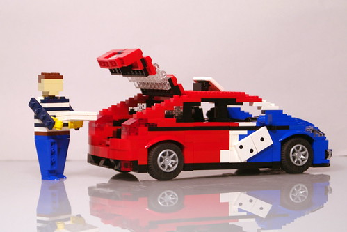 Ford Focus 2011 - Dominos Pizza Delivery | by lego911
