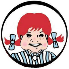 Wendy's Fat Logo Version | by Si1very
