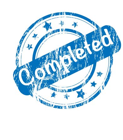 Completed Stamp | This is the image to be added to posts ...
