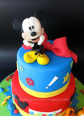 Mickey mouse cake Maria Letizia Bruno Flickr