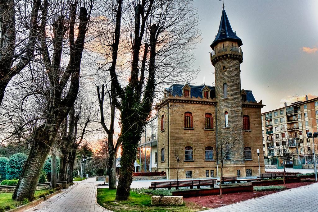 Parque Uranga, Burlada, Navarra - Camino de Santiago