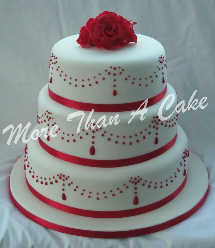 Red Velvet Cake  Tier