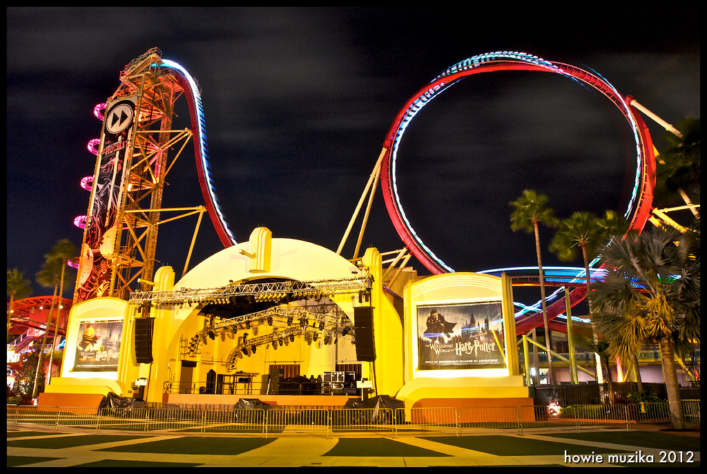 universal orlando resort hollywood rip ride rockit flickr