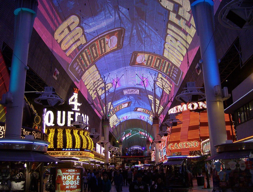 fremont street experience during new years eve