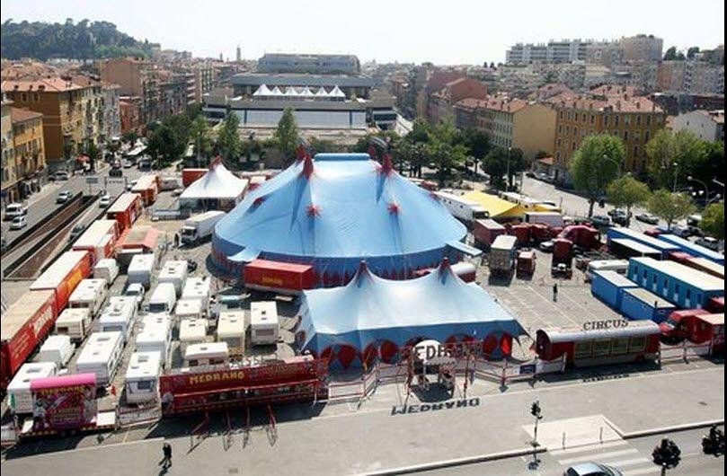 circus medrano | voorwiel