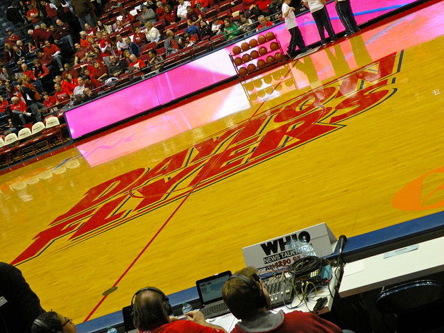 Dayton Flyers Logo On the Court | Flickr - Photo Sharing!