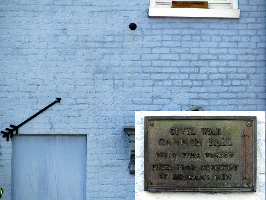Replica Civil War Cannonball Elizabethtown Ky In 1862