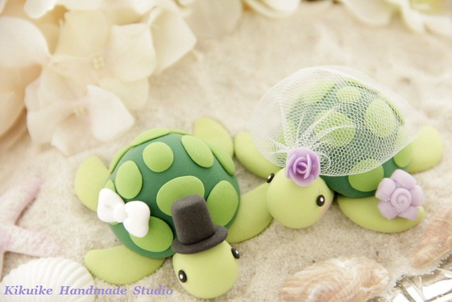 turtle wedding cake toppers turtles wedding cake topper www etsy listing 21320
