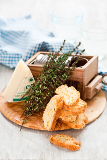 Parmesan biscotti | by The Little Squirrel