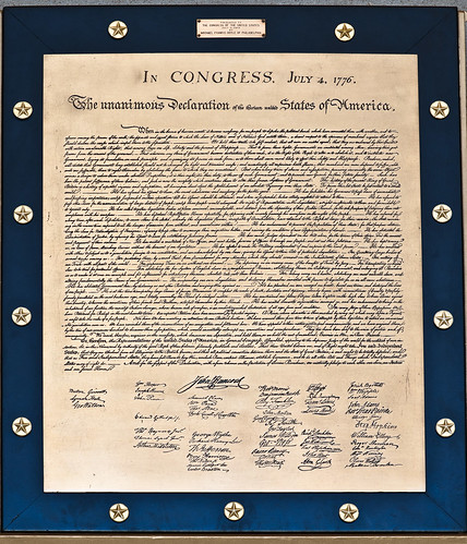 Declaration of Independence Plaque | by USCapitol