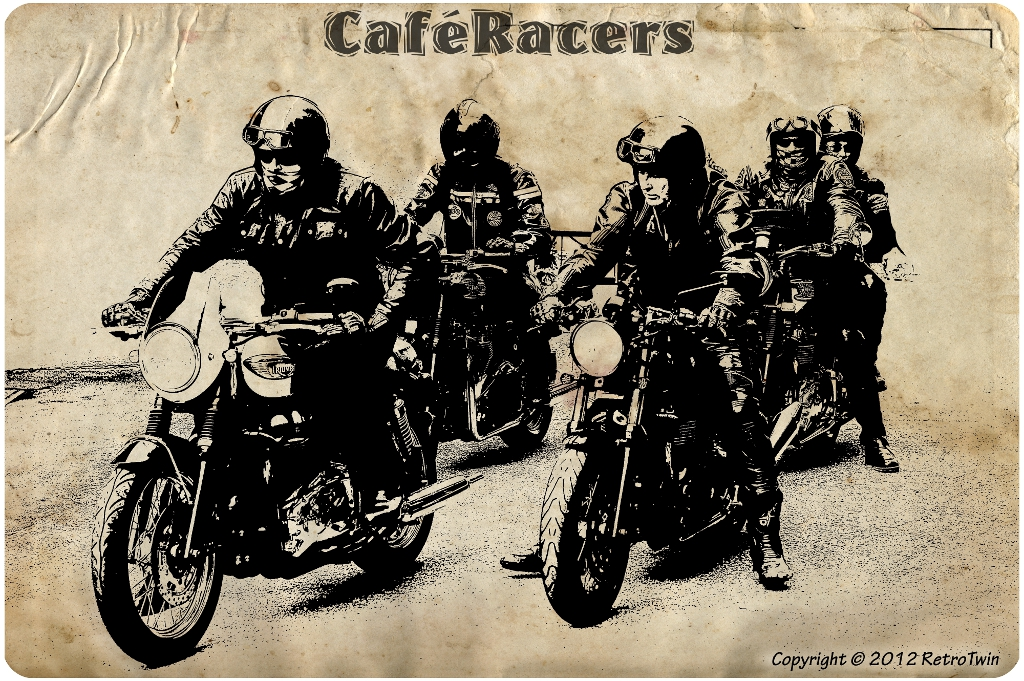 Posters Cafe Racer