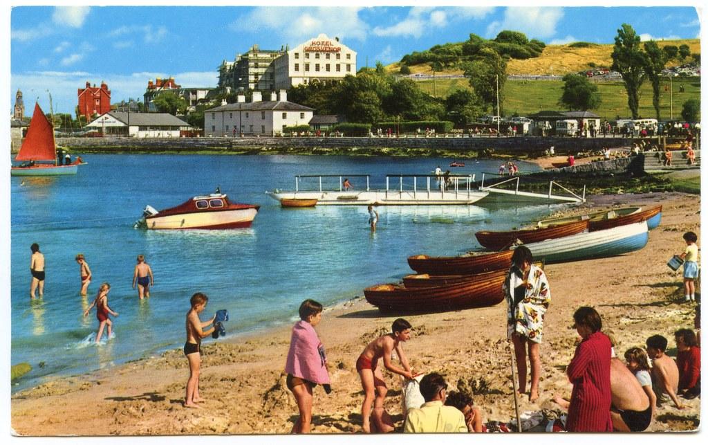 Grosvenor Hotel Swanage Dorset Demolished 1988 A