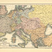 Map page of Section XIII Europe, 1814-1863 from Part XX of Historical atlas of modern Europe from the decline of the Roman empire : comprising also maps of parts of Asia and of the New world connected with European history